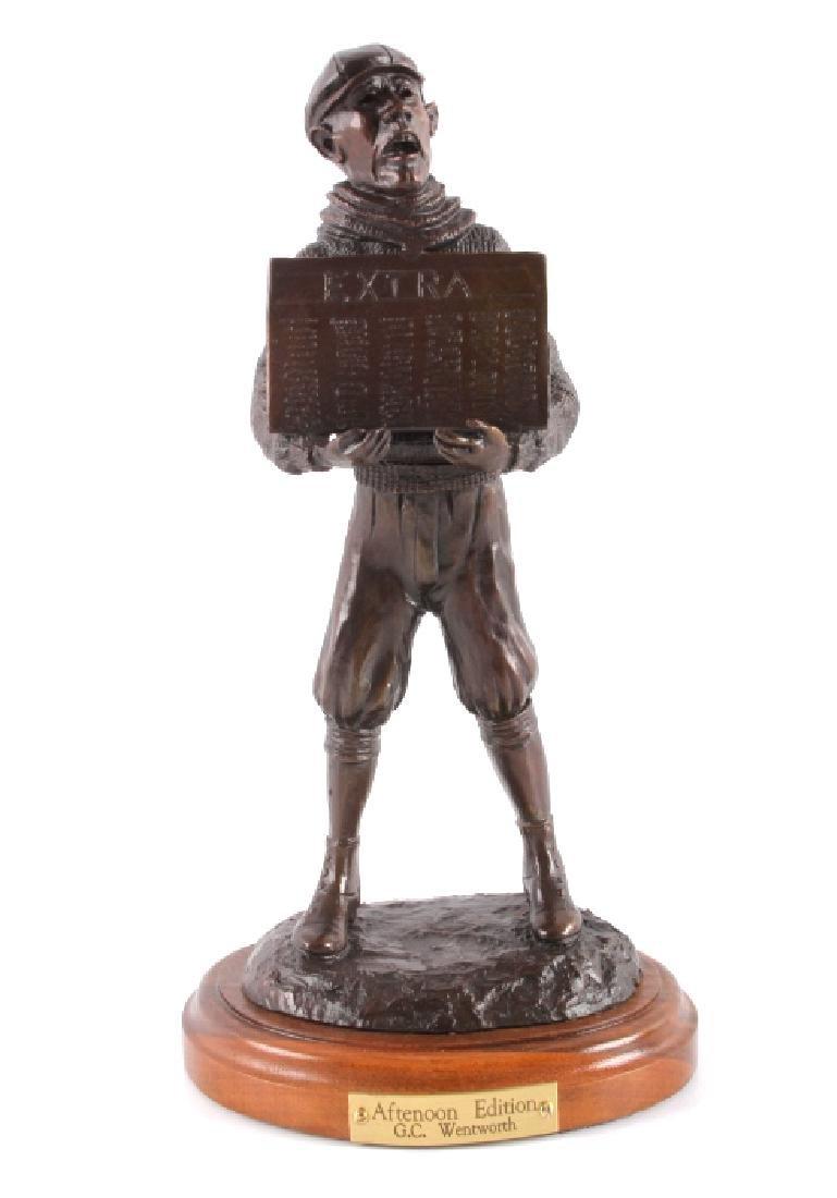 Original G.C. Wentworth Bronze Sculpture