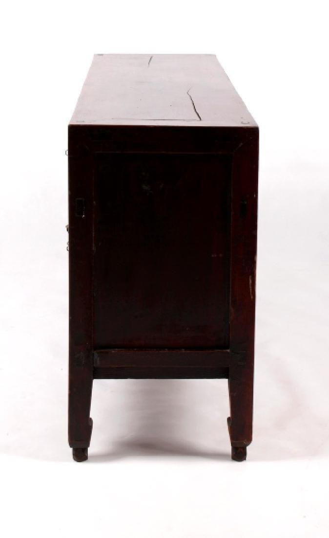 Antique Chinese Low Kang Locking Cabinet - 6