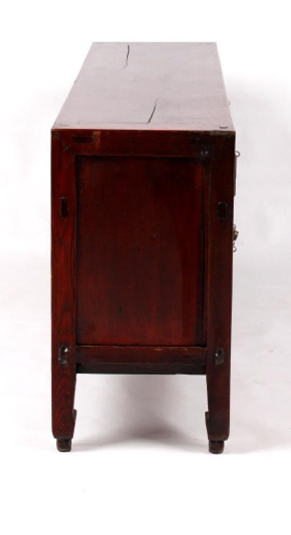 Antique Chinese Low Kang Locking Cabinet - 7