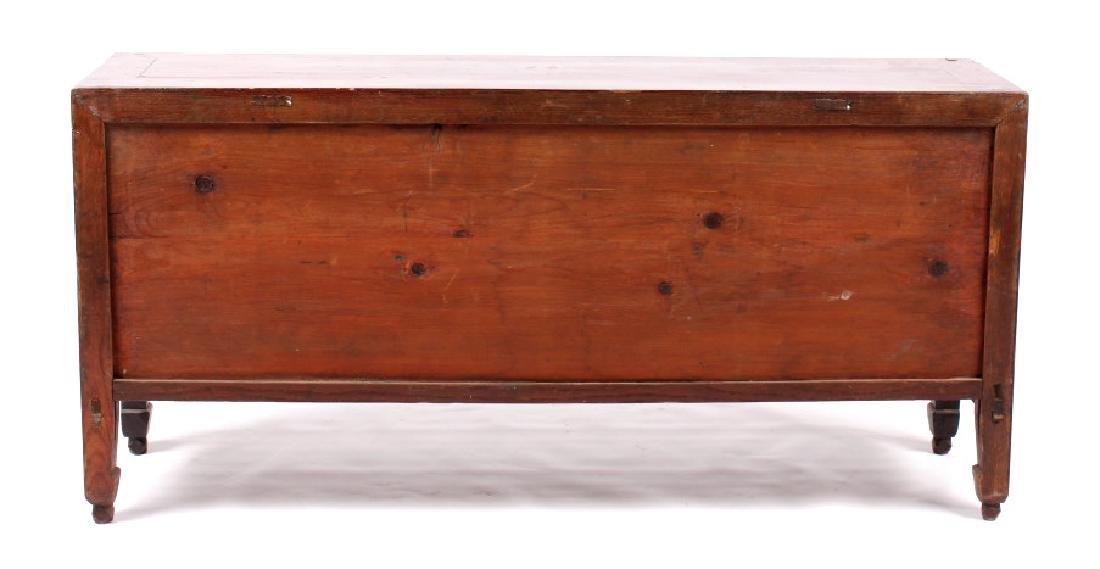 Antique Chinese Low Kang Locking Cabinet - 8