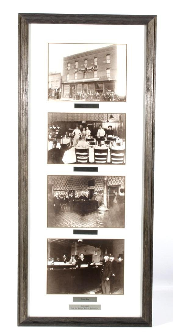 Montana Hotel Photograph Collection Early 1900's-