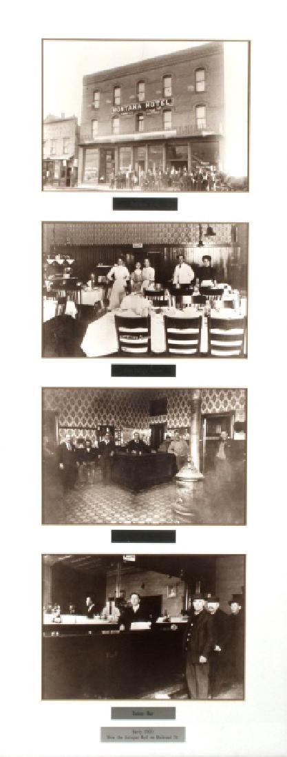 Montana Hotel Photograph Collection Early 1900's- - 2