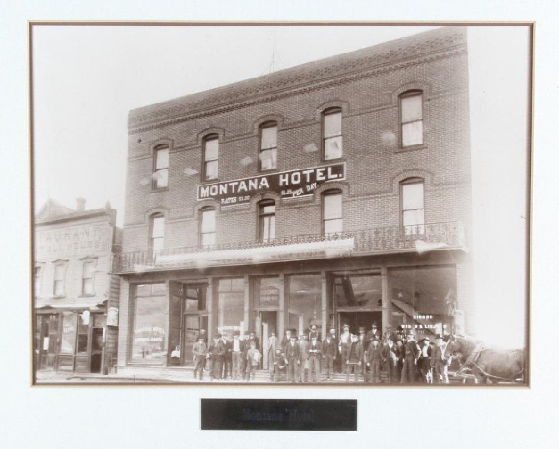 Montana Hotel Photograph Collection Early 1900's- - 3