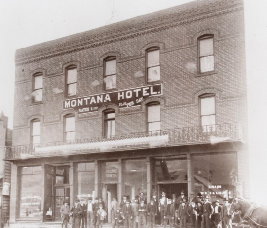 Montana Hotel Photograph Collection Early 1900's- - 9