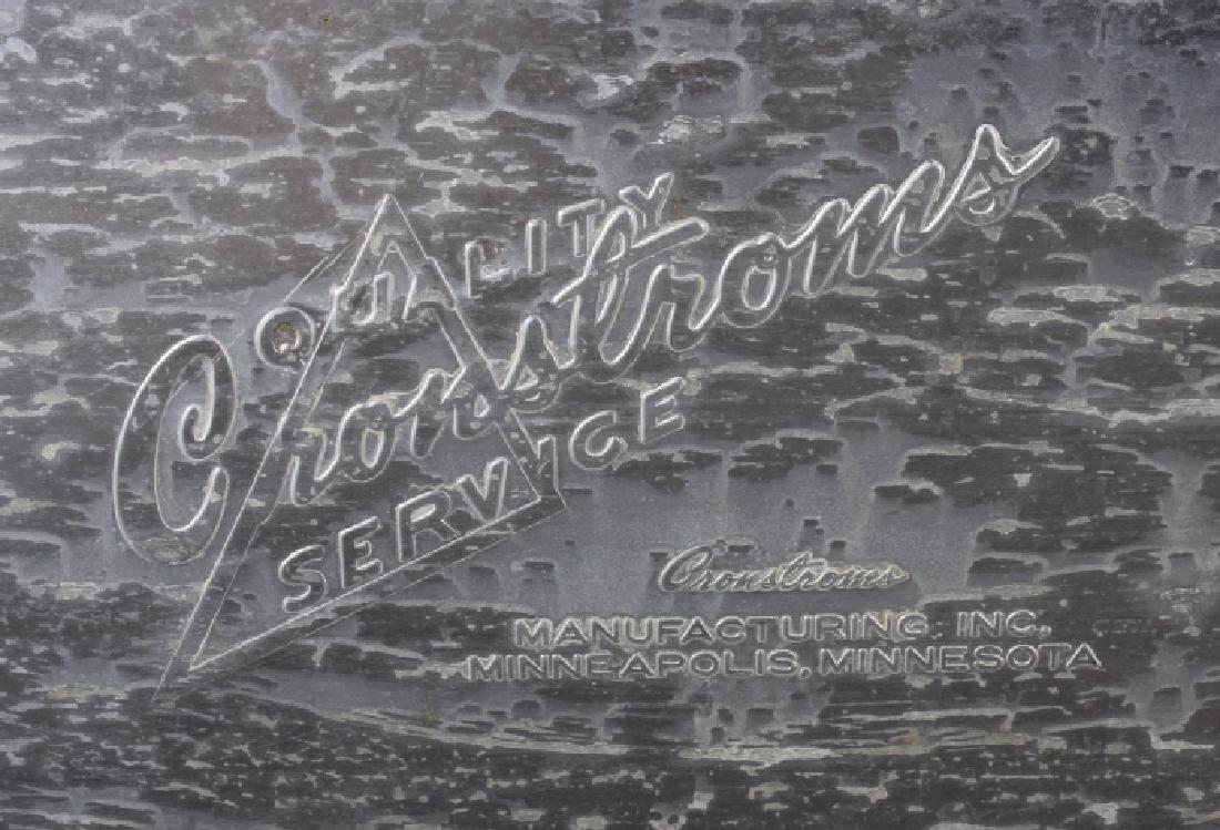 Vintage Aluminum Cronstroms Pepsi-Cola Cooler - 7