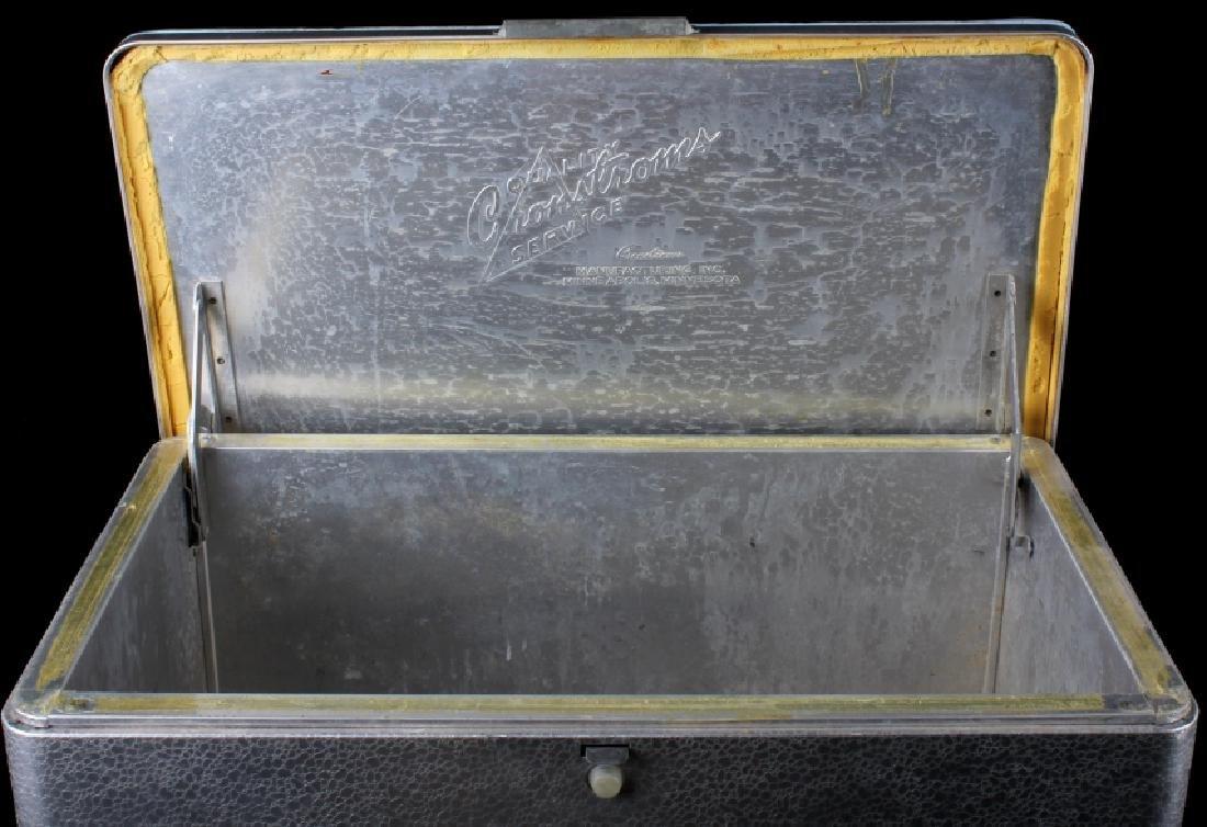 Vintage Aluminum Cronstroms Pepsi-Cola Cooler - 8