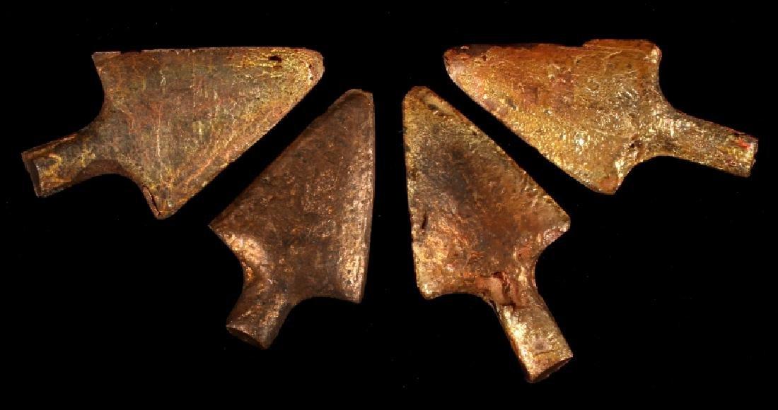 Anaconda Copper Mining Company Cast Arrowheads