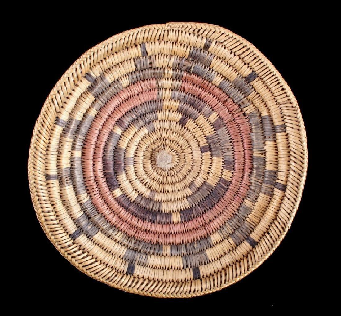 Navajo Coil Wedding Basket, Circa. 1930