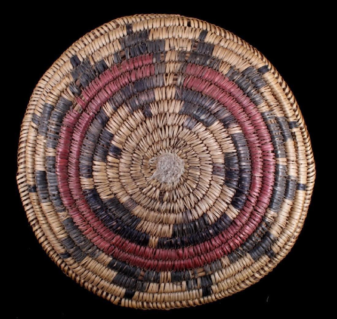 Navajo Coil Wedding Basket, Circa. 1930 - 6
