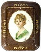 Antique Hires Root Beer Serving Tray c 1917