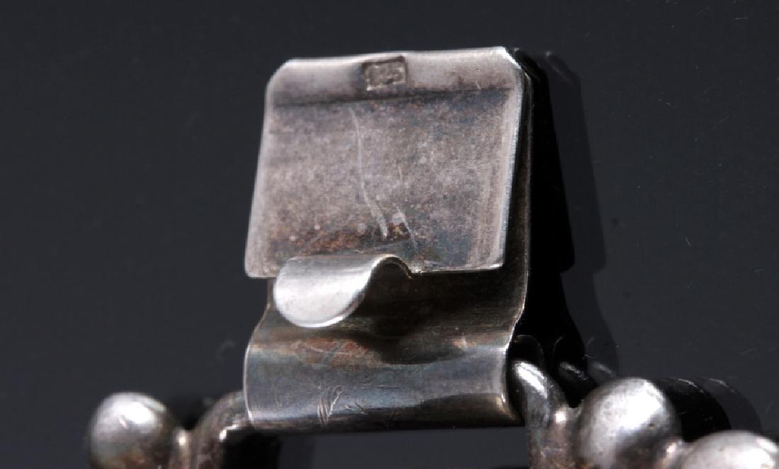 Sterling Silver and Larimar Bracelet - 11