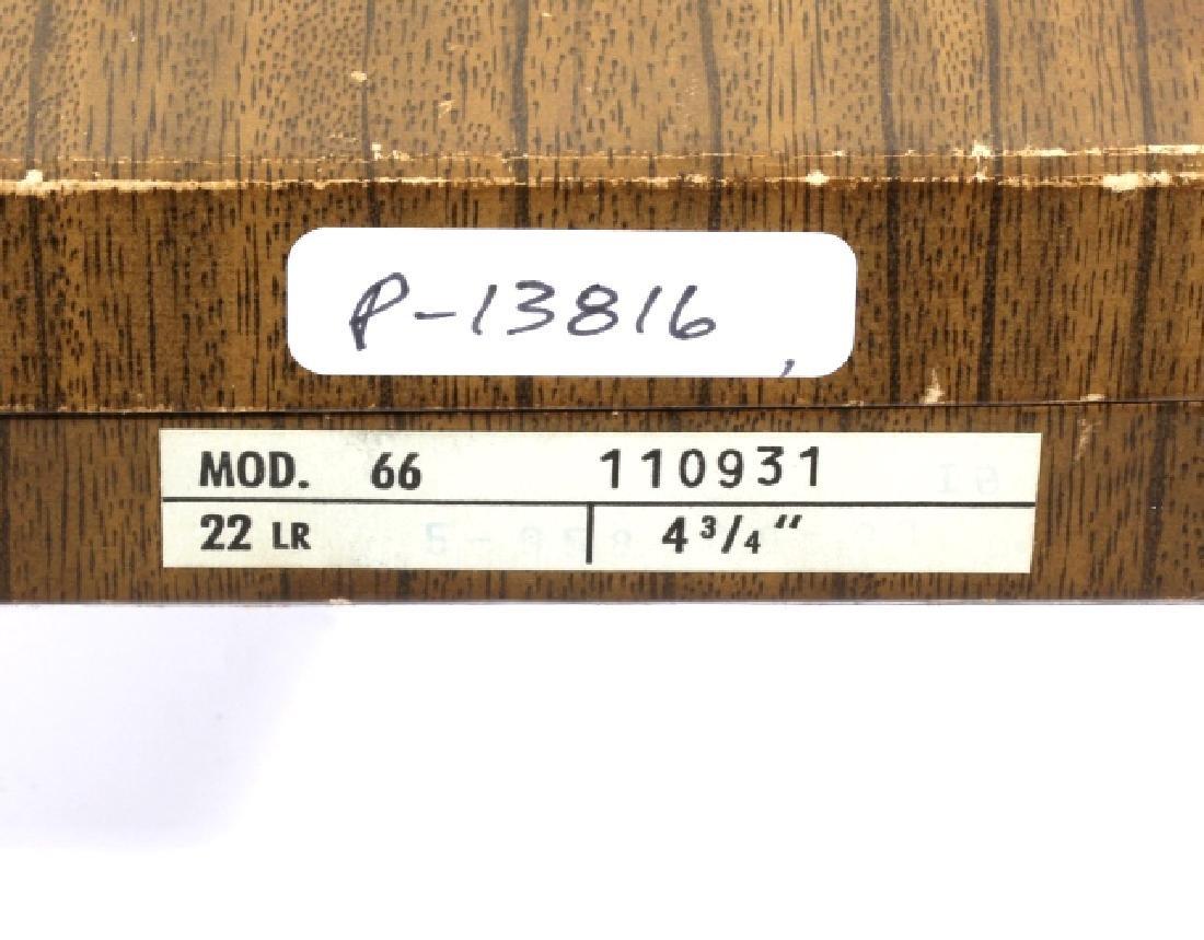 ROHM Model 66 .22 LR single Action Revolver - 4