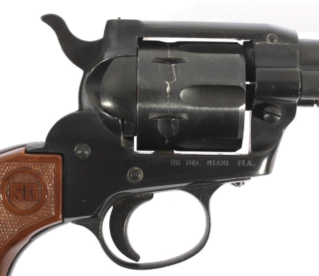 ROHM Model 66 .22 LR single Action Revolver - 6