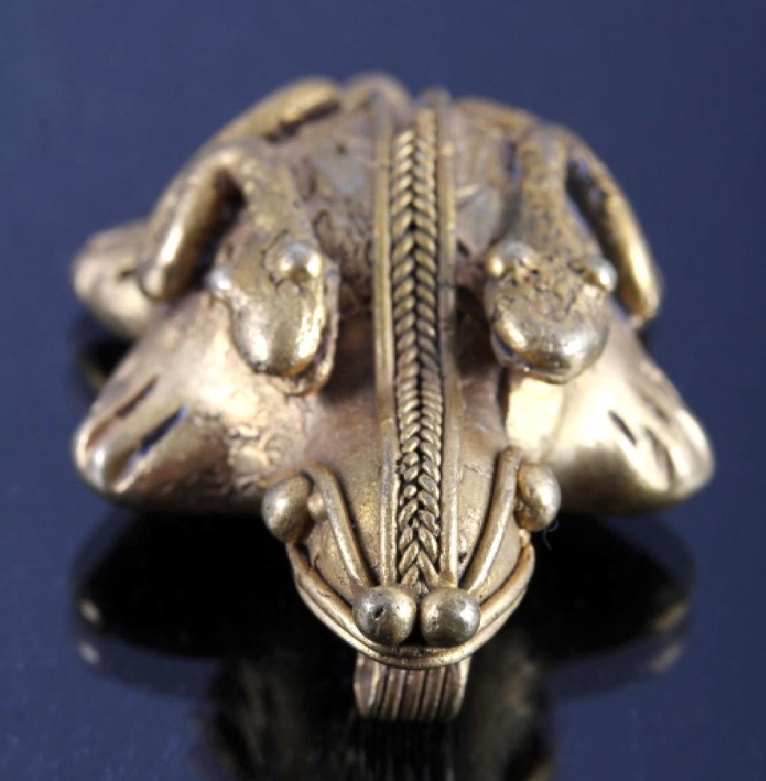 Tairona Gold Effigy Pendant 200-1600 CE - 3