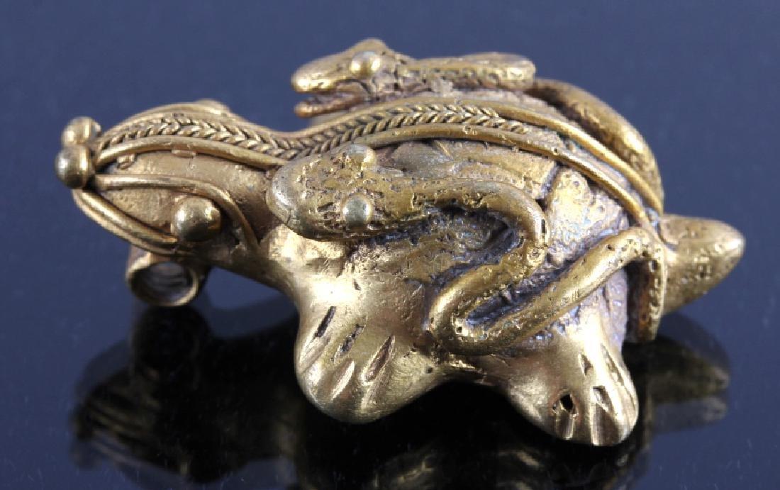 Tairona Gold Effigy Pendant 200-1600 CE - 4
