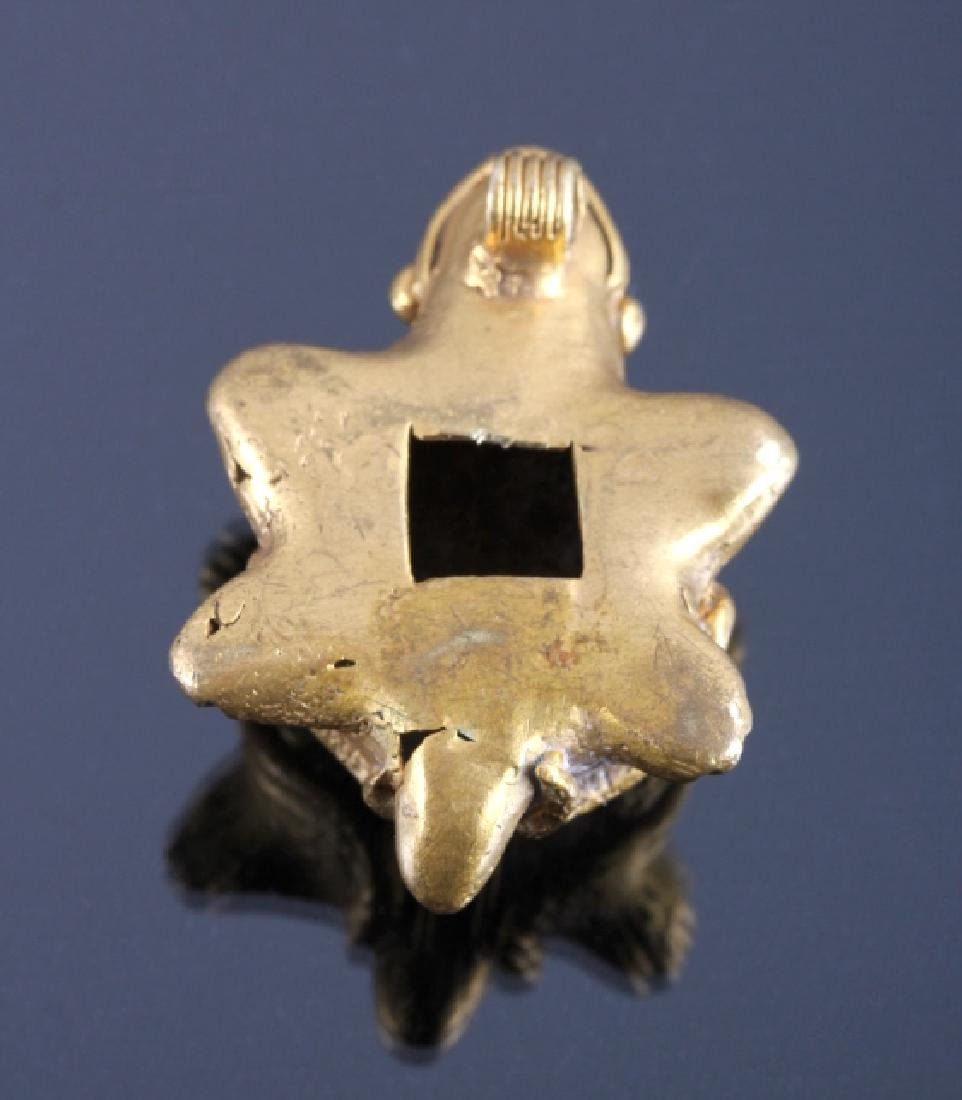 Tairona Gold Effigy Pendant 200-1600 CE - 6