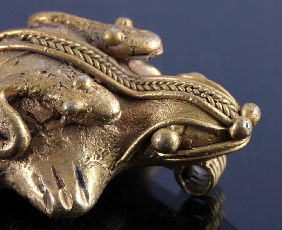 Tairona Gold Effigy Pendant 200-1600 CE - 8