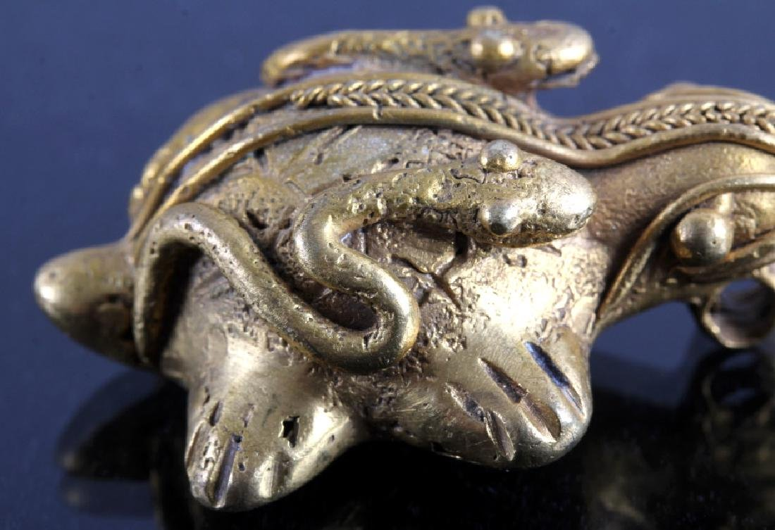 Tairona Gold Effigy Pendant 200-1600 CE - 9
