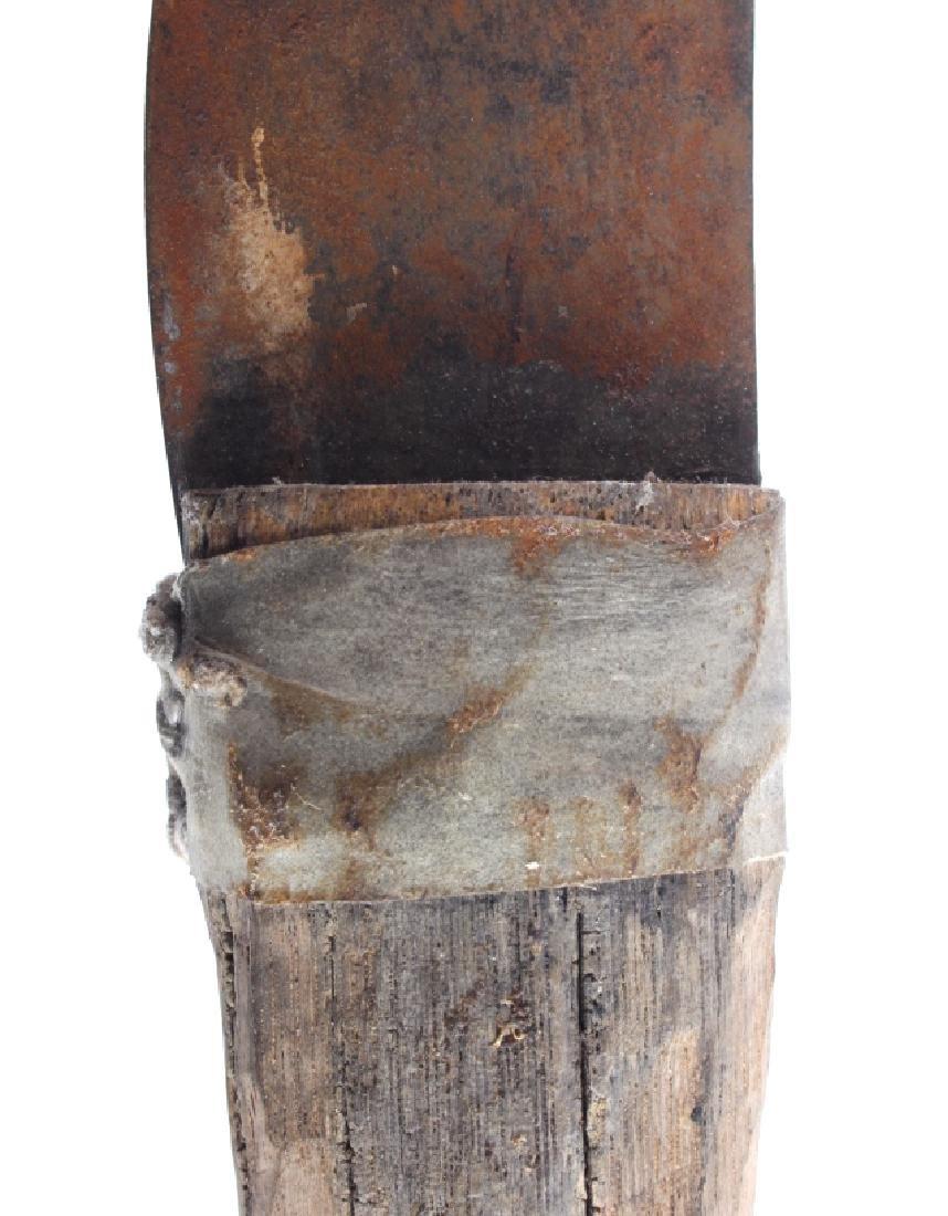 Plains Indian Buffalo Skinning Knife & Sheath - 6