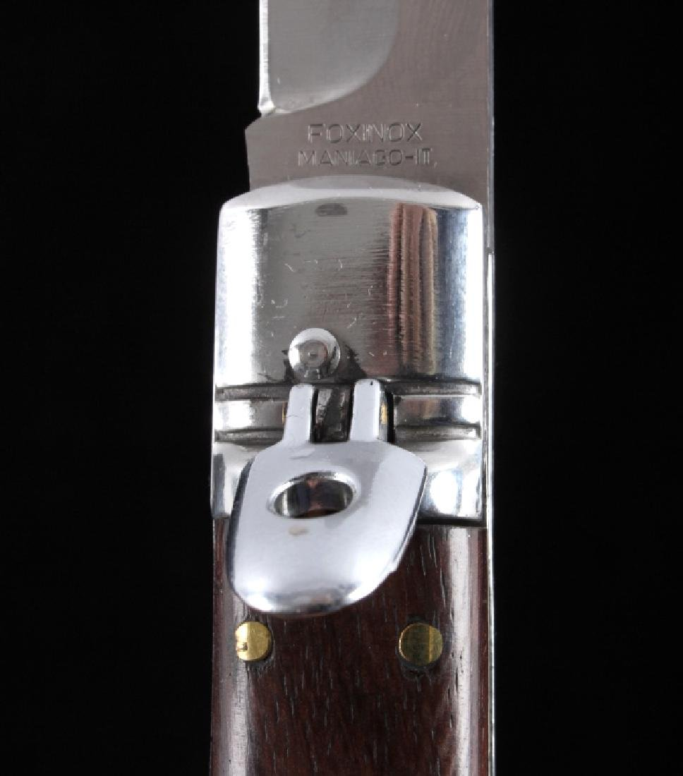 Foxinox Italian Stiletto Switchblade Cocobolo Wood - 5