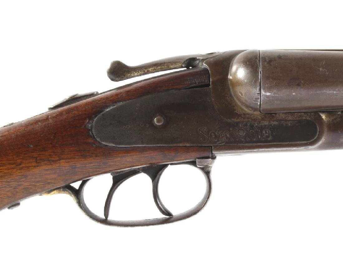 Crescent Firearms Co. - Seminole 12ga SxS Shotgun - 10