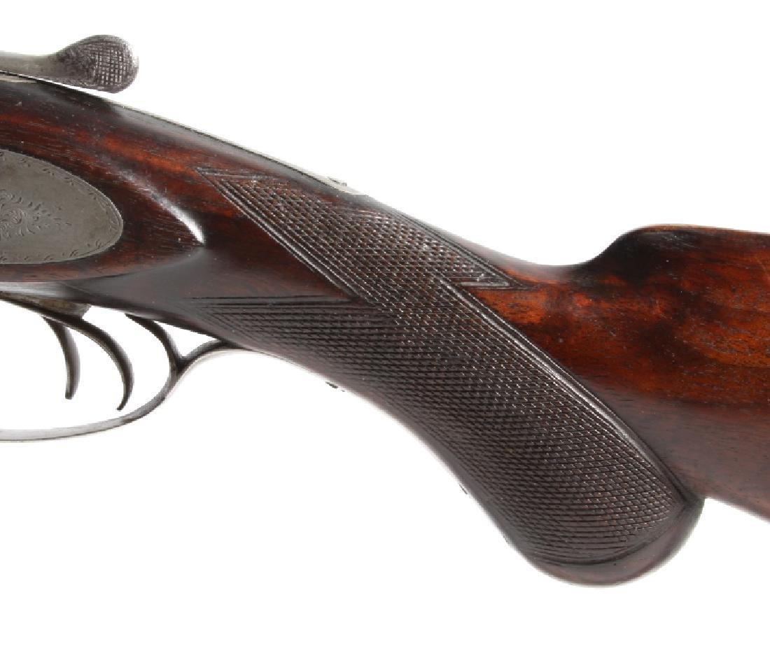 T.C. Montgomery 12ga SidexSide Percussion Shotgun - 17