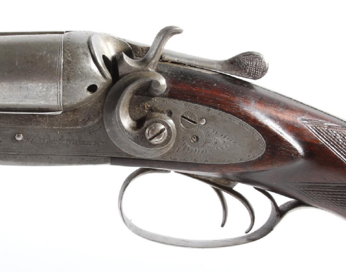 T.C. Montgomery 12ga SidexSide Percussion Shotgun - 18
