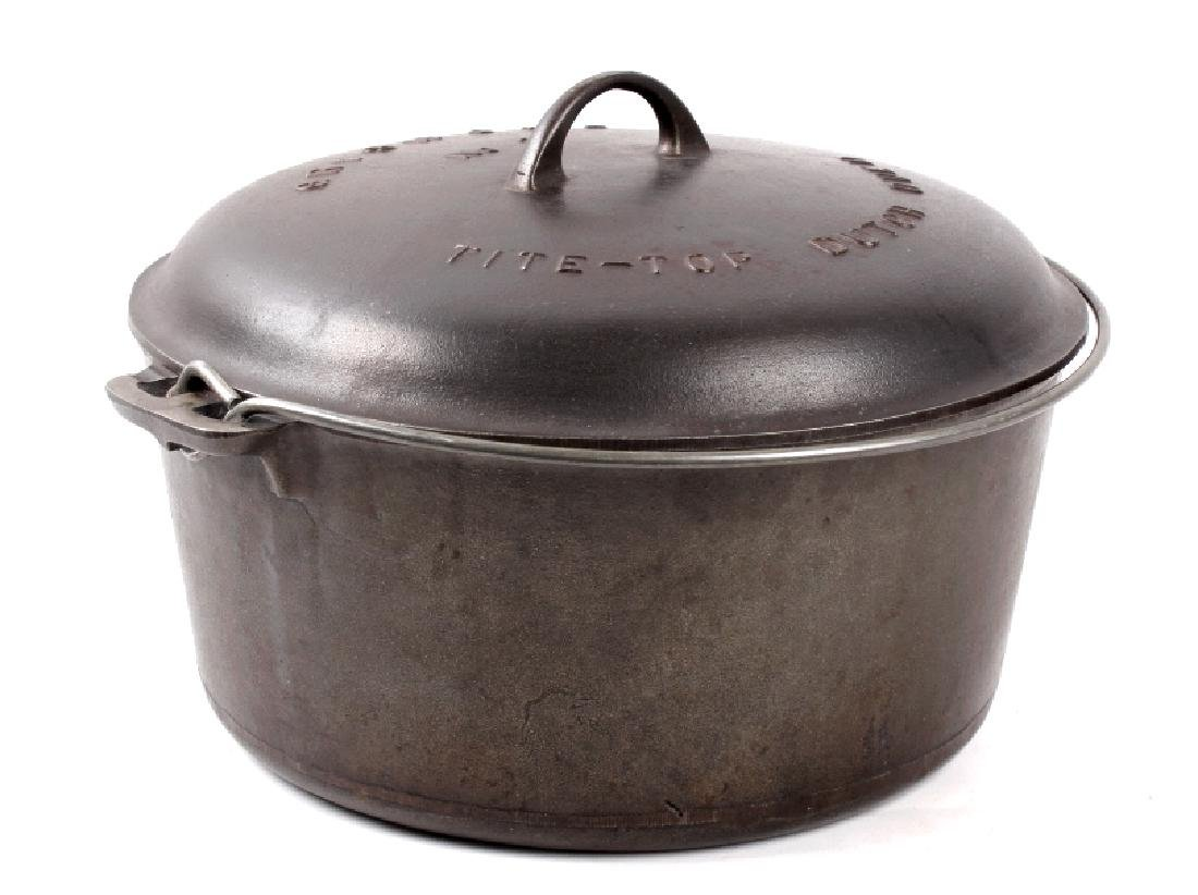 Griswold Cast Iron No. 11 Tite-Top Dutch Oven