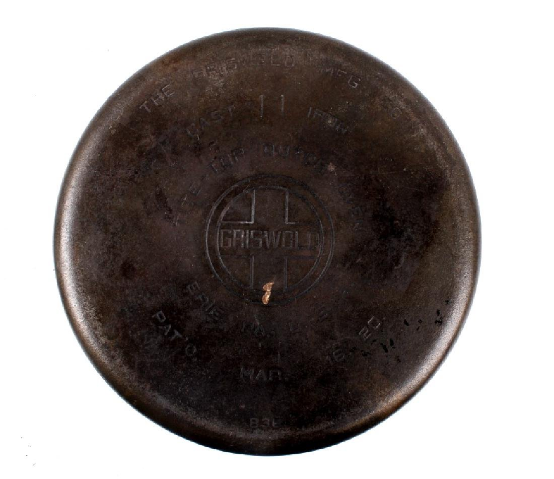 Griswold Cast Iron No. 11 Tite-Top Dutch Oven - 4