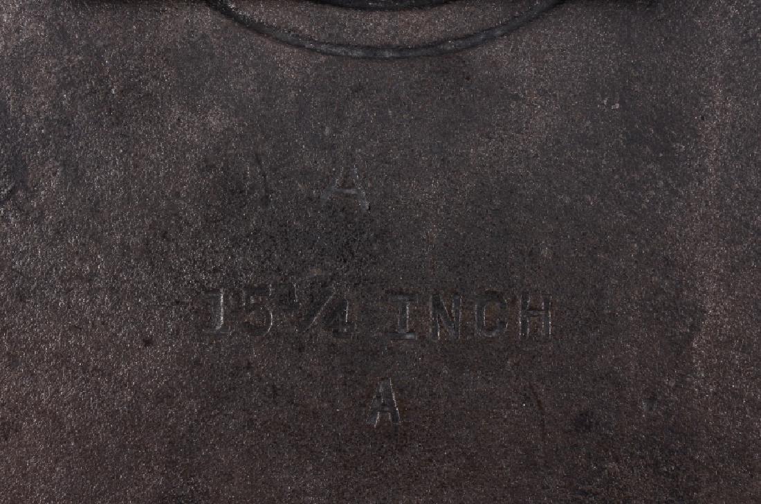 Griswold No. 14 Large Block Cast Iron Skillet - 7