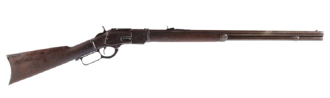 Winchester Model 1873 .38 WCF Octagon Lever Action - 2