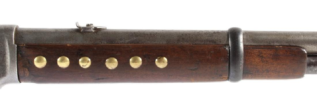Sioux Beaded & Tacked Winchester Model 1873 SRC - 6