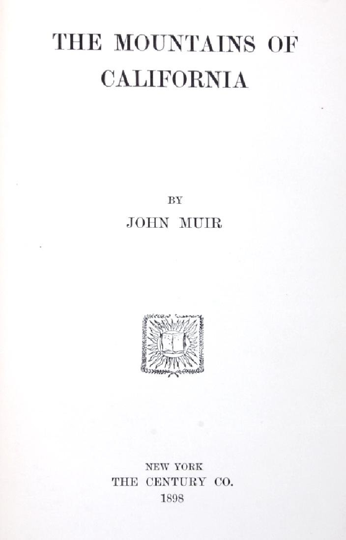 The Mountains of California by John Muir 1898 - 3