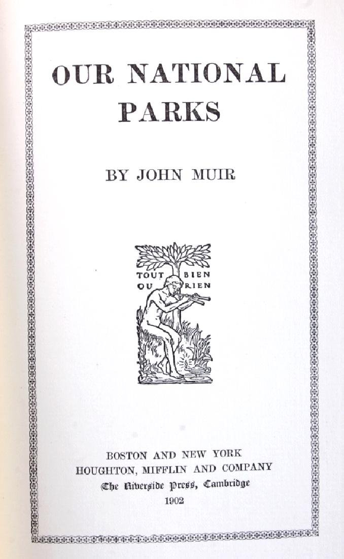Our National Parks by John Muir 1902 - 3