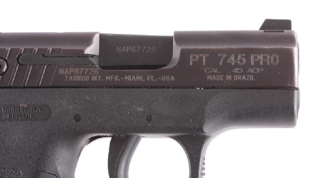 Taurus Millennium .45 Semi-Automatic Pistol - 4