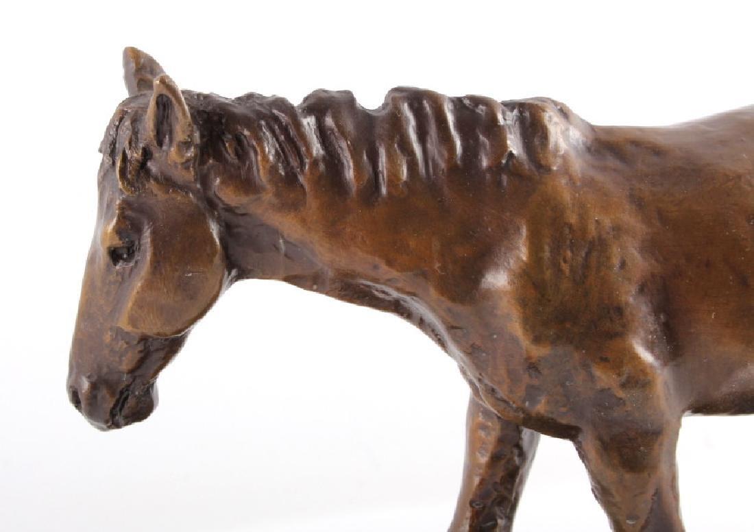 Original Bob Scriver Colt Bronze Sculpture - 4