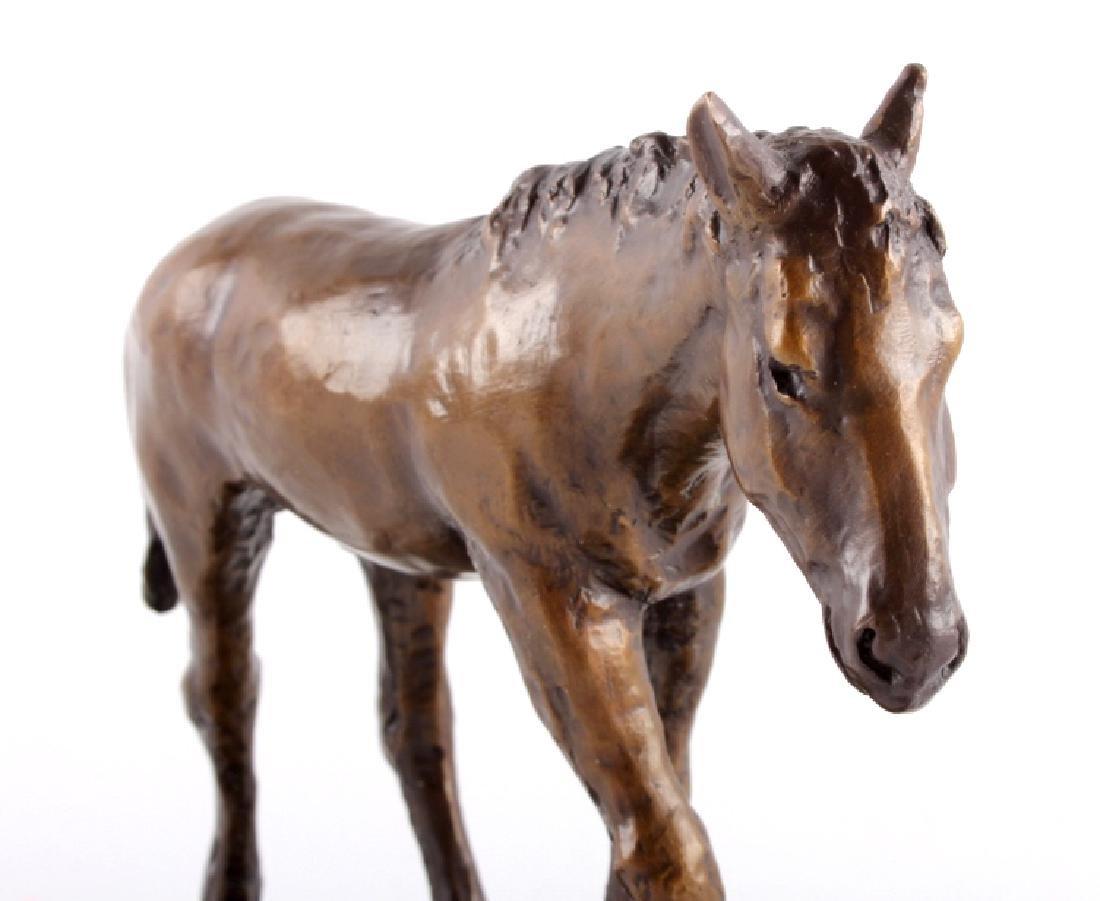 Original Bob Scriver Colt Bronze Sculpture - 7