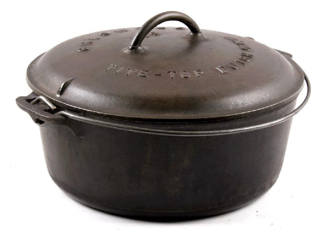 Griswold Cast Iron No. 9 Tite-Top Dutch Oven