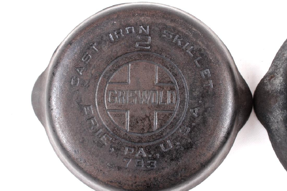 Griswold Cast Iron Skillet Collection c. 1924-1940 - 5