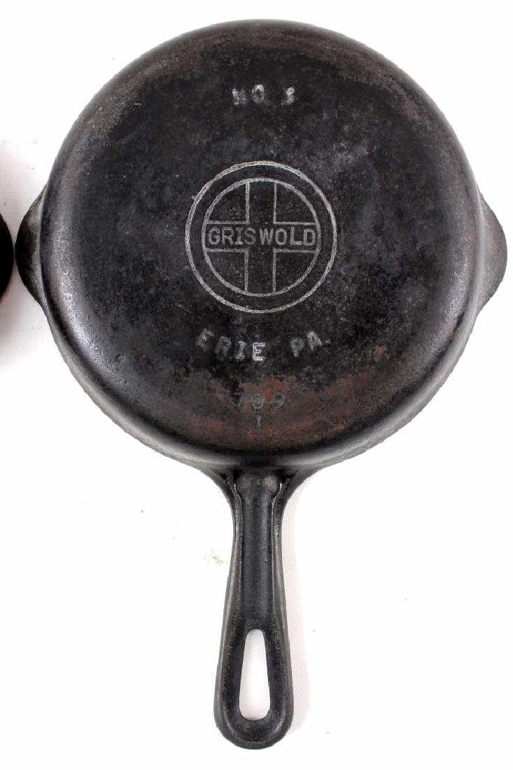 Griswold Cast Iron Skillet Collection c. 1924-1940 - 7