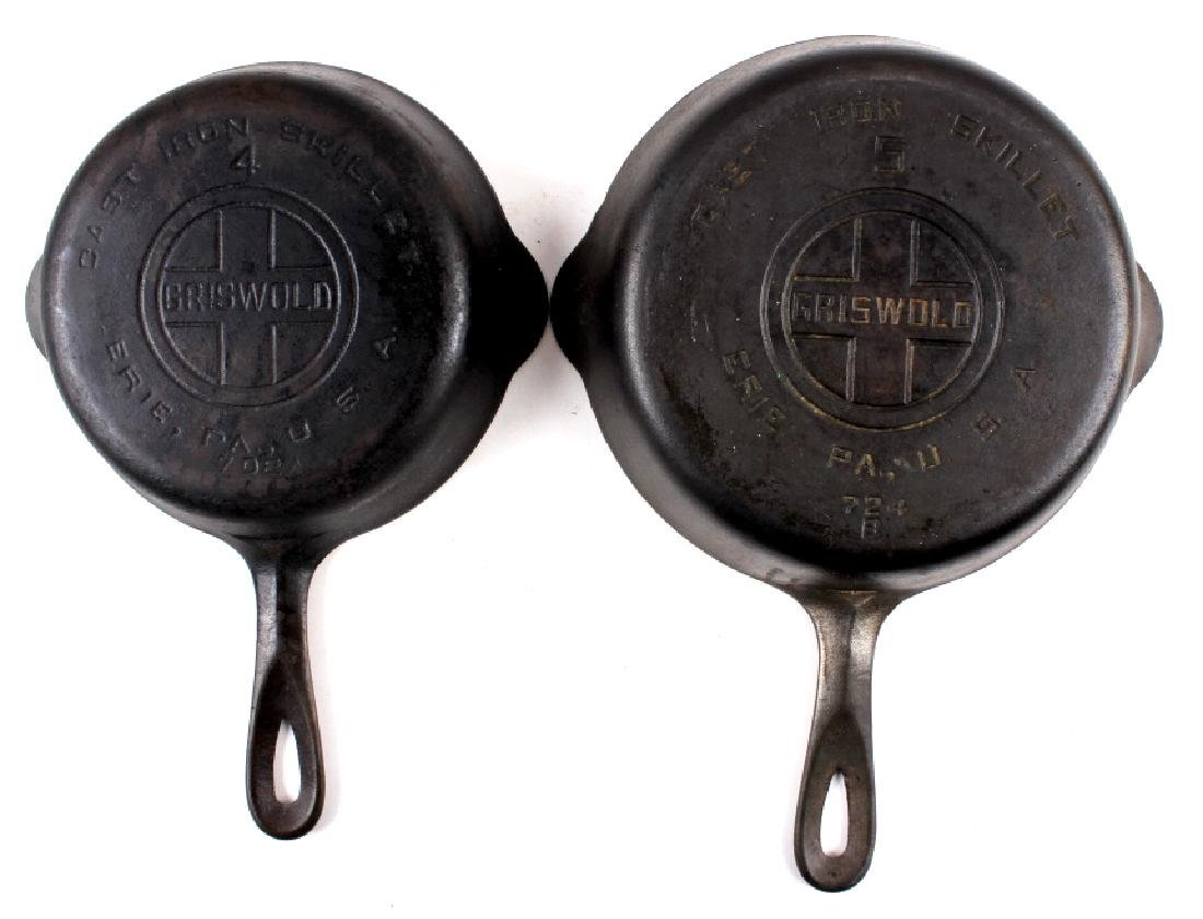Griswold Cast Iron Skillet Collection c. 1924-1940 - 9