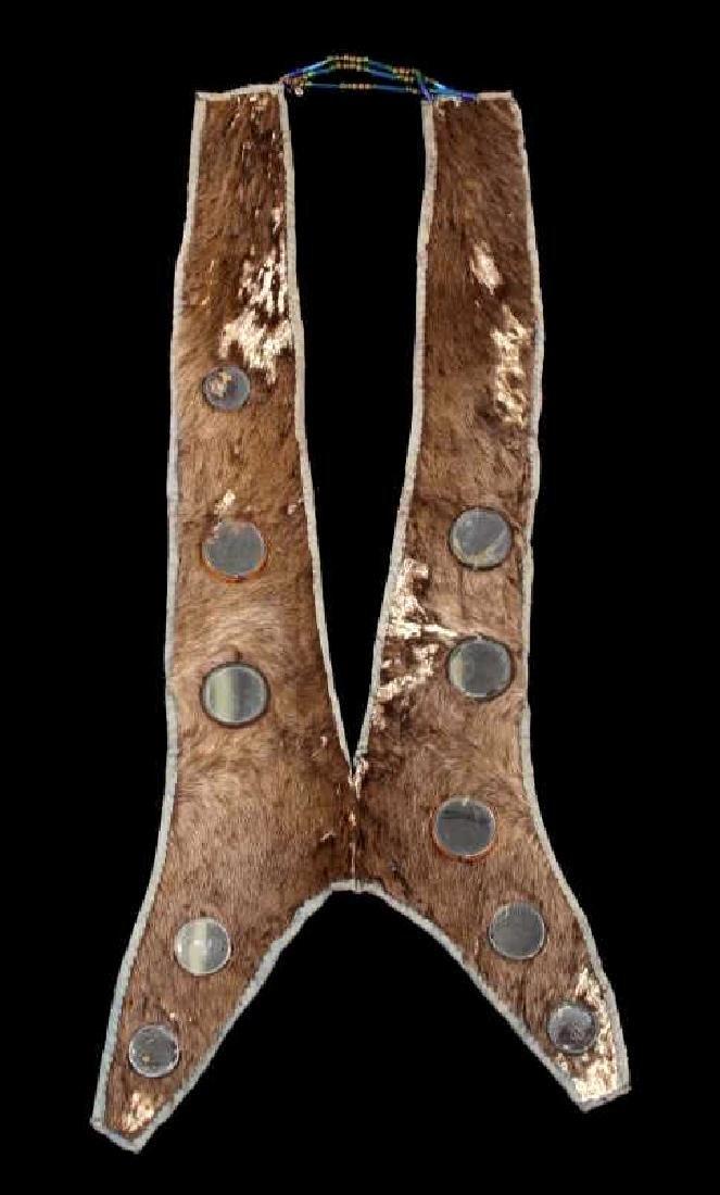 Lakota Ihoka Badger Society Otter Mirror Sash 1860
