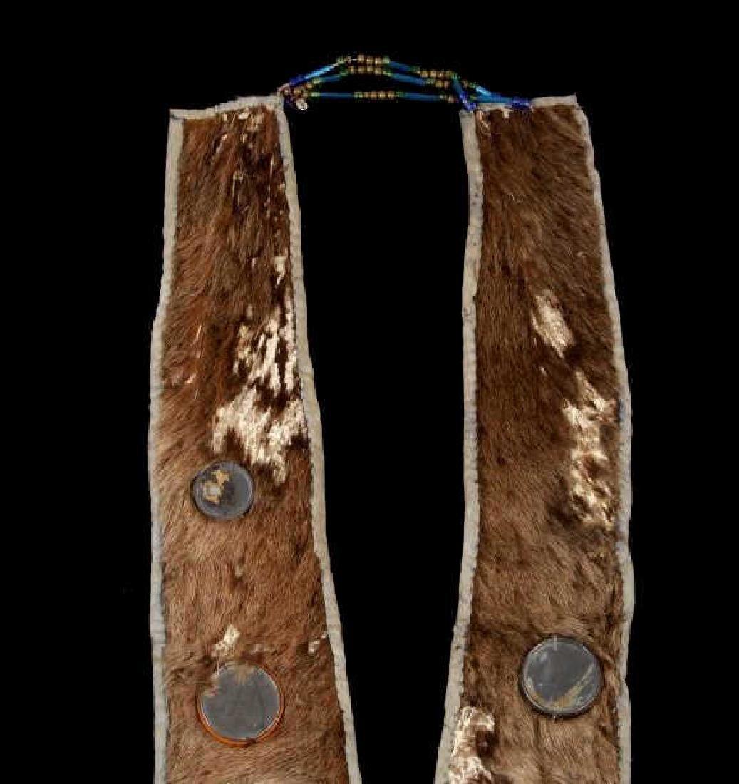 Lakota Ihoka Badger Society Otter Mirror Sash 1860 - 2