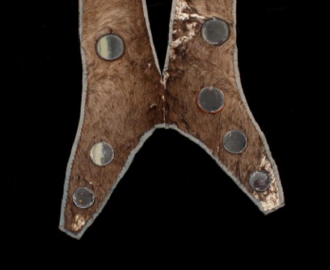 Lakota Ihoka Badger Society Otter Mirror Sash 1860 - 3