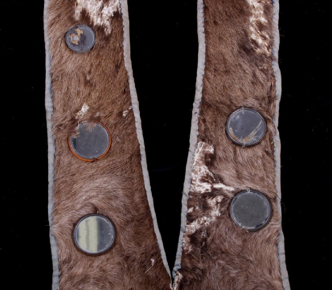 Lakota Ihoka Badger Society Otter Mirror Sash 1860 - 6