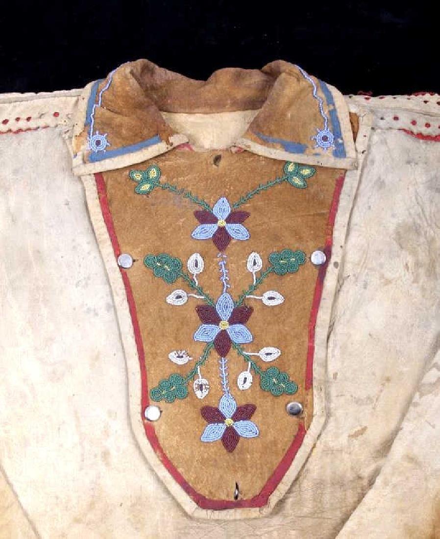 Metis Cree Beaded Scout Shirt & Pants c. 1870-1880 - 10