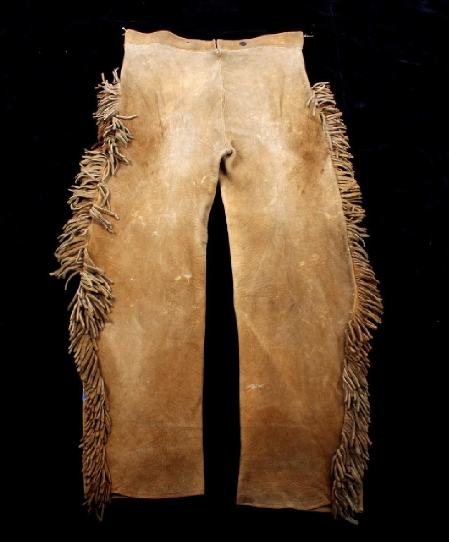 Metis Cree Beaded Scout Shirt & Pants c. 1870-1880 - 4