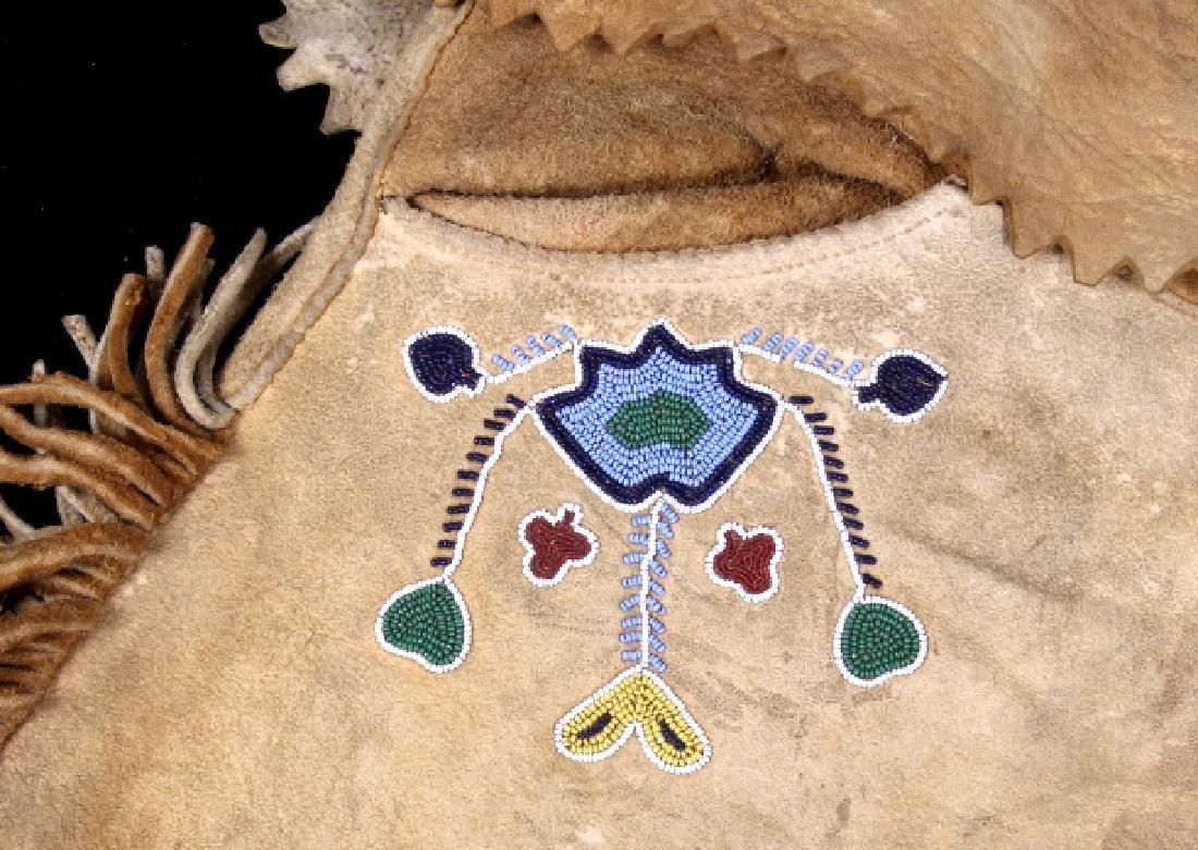 Metis Cree Beaded Scout Shirt & Pants c. 1870-1880 - 8