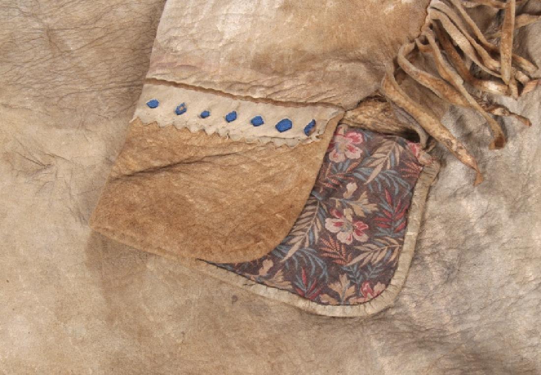 Metis Cree Beaded Scout Shirt & Pants c. 1870-1880 - 9