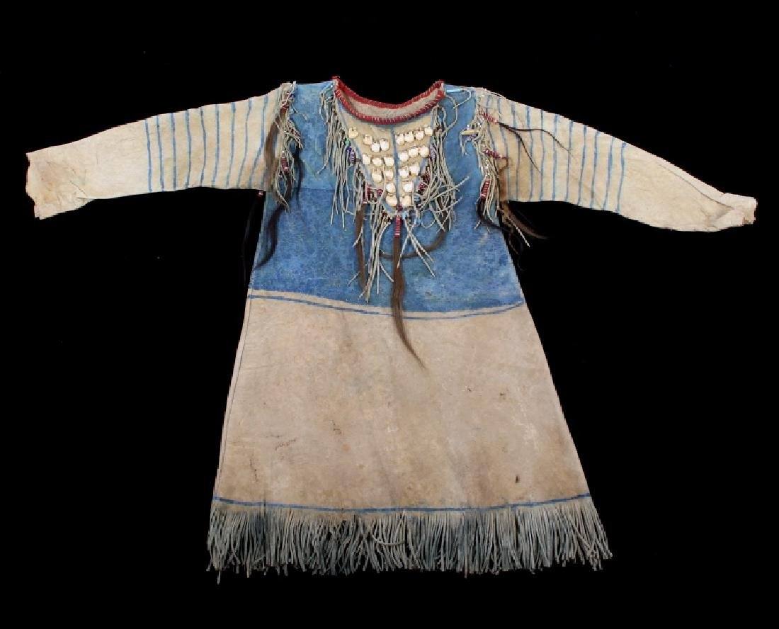 Oglala Lakota Sioux War Shirt w/ Elk Teeth 1870-80